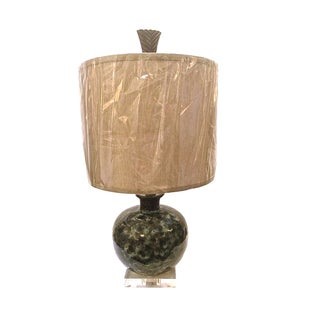 Small Mid-Century Ceramic Table Lamp