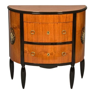 Maurice Dufrene Small Demilune Cabinet