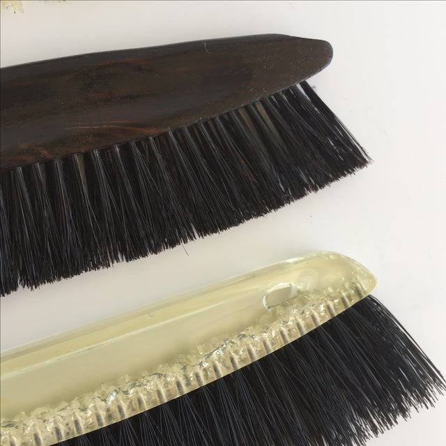 Image of Vintage Decorative Brushes - Set of 5