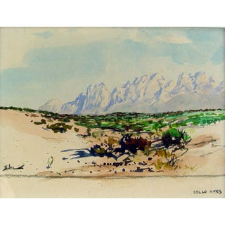 Organ Mountains, New Mexico by Zaner