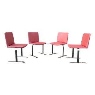 Giovanni Offredi for Saporiti Dining Chairs - S/4