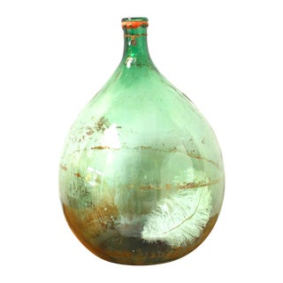 Antique French Wine Demijohn