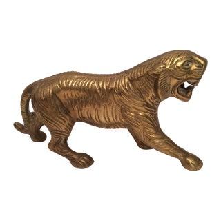 Solid Brass Tiger