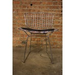 Image of Harry Bertoia Mid-Century Wire Accent Chair