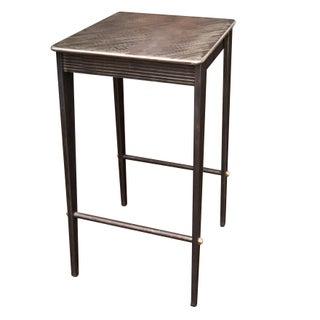 Will Stone Handmade Steel Drink Table