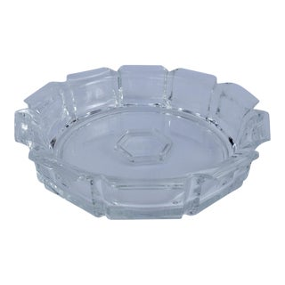 Modern Style Lucite Server Center Bowl