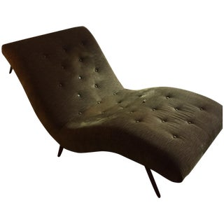 Mid Century Corduroy Chaise from Home Nature