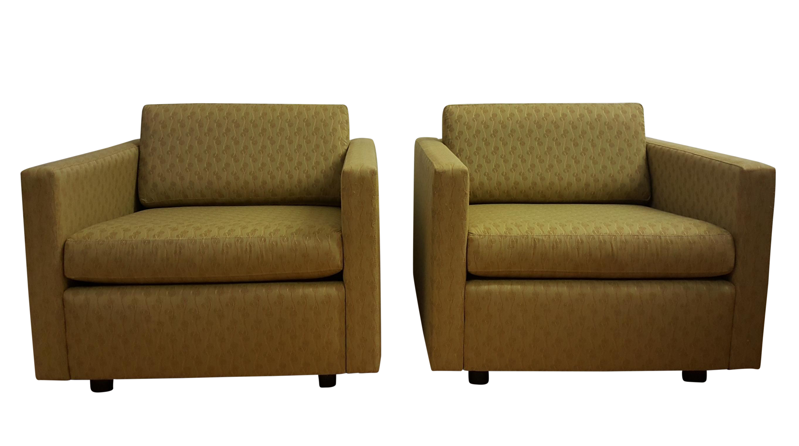 Jack Cartwright 5101 Lounge Chairs   A Pair