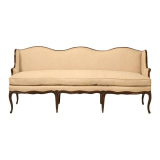 Louis XV Style French Walnut Sofa