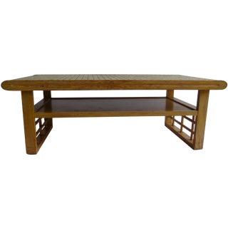 Paul Laszlo Attrib. Tile Topped Coffee Table