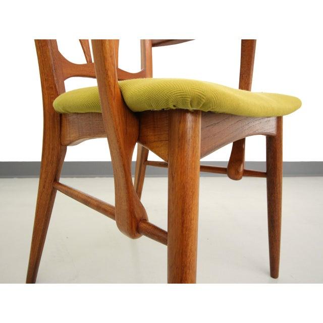 Danish Teak Koefoed Hornslet Dining Chairs -Set 6 - Image 7 of 8