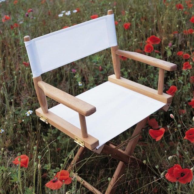 Image of Skagerak Teak Director's Chair - Retail $525