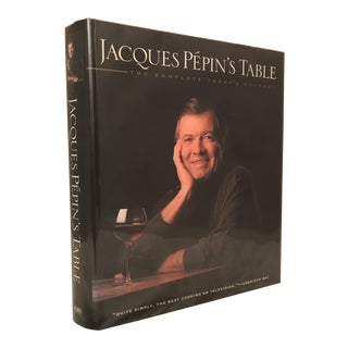 """""""Jacques Pepin's Table"""" First Edition Cookbook"""