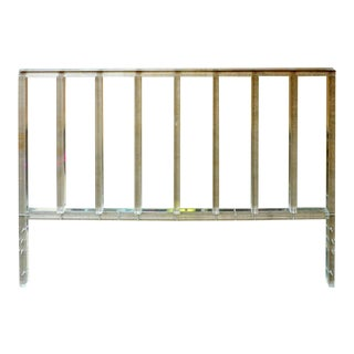 Lucite King Headboard