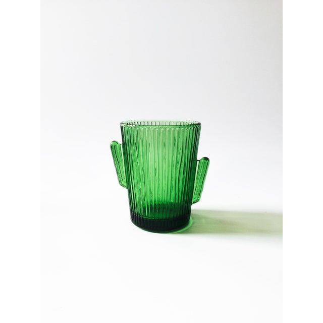 Image of Vintage Libbey Glass Cactus Tumblers- Set of 4