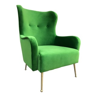 Green Highback Lounge Chair