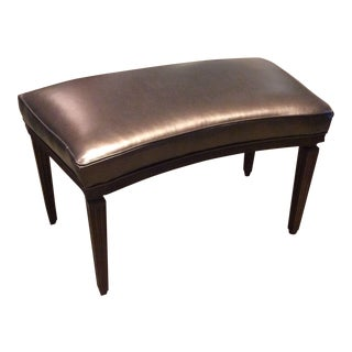 Hickory Chair Rembrandt Curved Bench