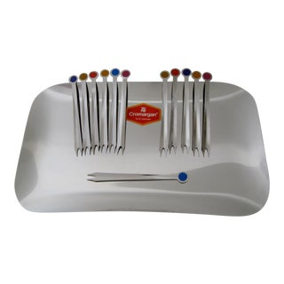 WMF Steel Appetizer Set - Set of 12