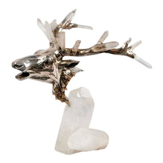 Crystal Prism Deer Head