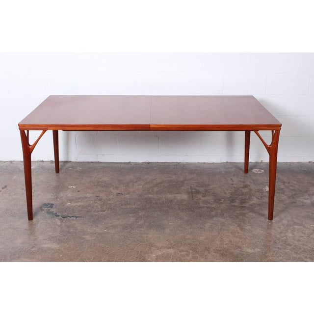 Sculptural Teak Dining Table - Image 9 of 10