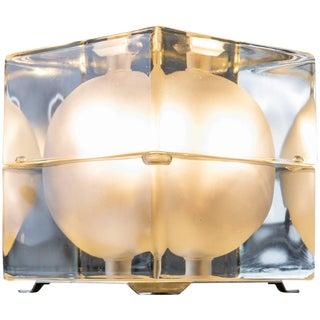 """Cubosfera"" Table Lamp by Alessandro Mendini for Fidenza Vetraria"