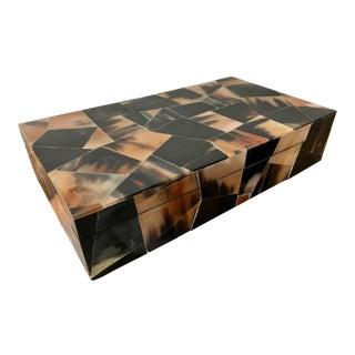 Jewelry Trinket Box Mosaic Bone Marketry