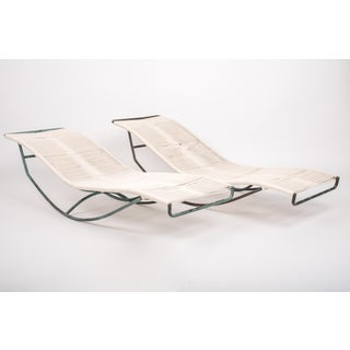 Pair of Waikiki Rocking Lounge Chairs by Walter Lamb for Brown Jordan