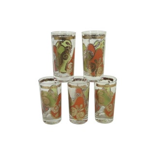 MCM Georges Briard Fruits Glasses - Set of 5