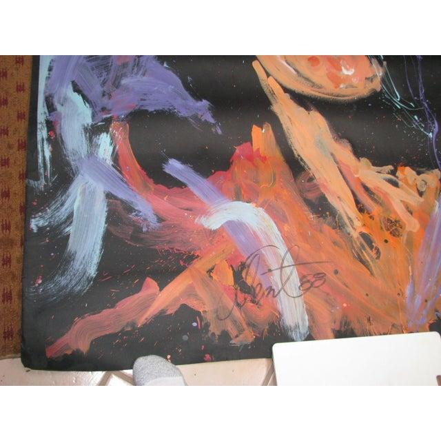 Original Denny Dent Painting - John Lennon - Image 5 of 5