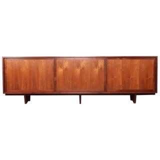 Large Walnut Cabinet by George Nakashima