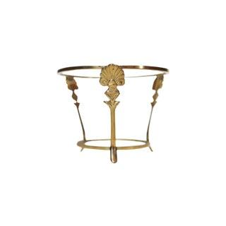 Mid-Century Brass Stand
