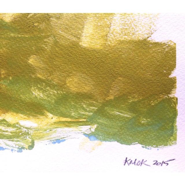 "Image of ""Vibuls Ocean"" Monotype Ink on Watercolor Paper"