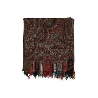 Paisley Shawl Blanket