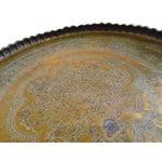 Image of Vintage Etched Turkish Tea Tray