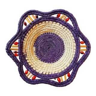 Bohemian Chic Coiled Basket