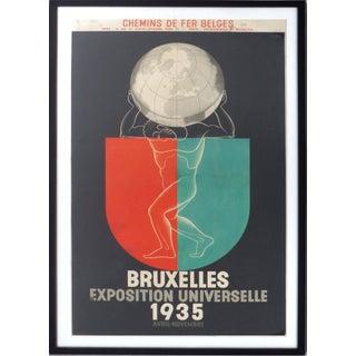 Marfurt '35 Bruxelles Exposition Poster