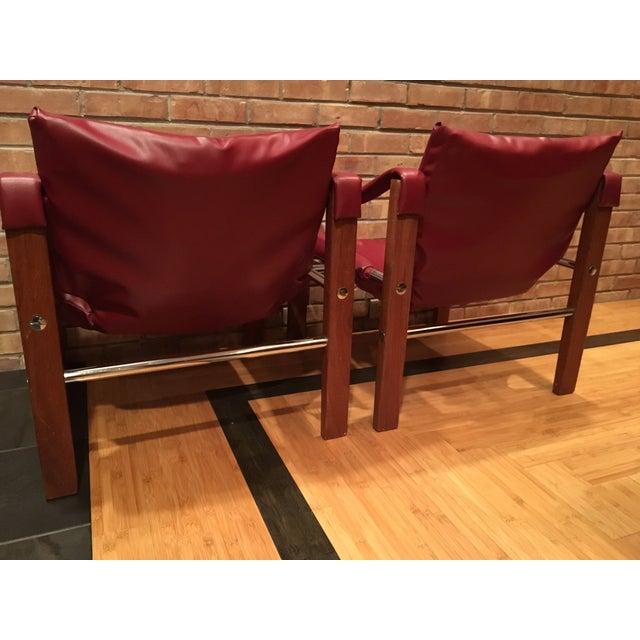Arkana Safari Chairs by Maurice Burke - A Pair - Image 4 of 7