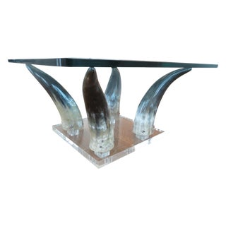 1970's Lucite Table