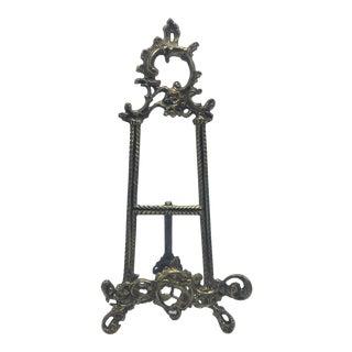 Decorative Brass Easel