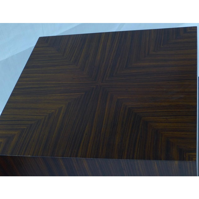 Danish Modern Cubist Stacked Rosewood End Tables- A Pair - Image 4 of 11