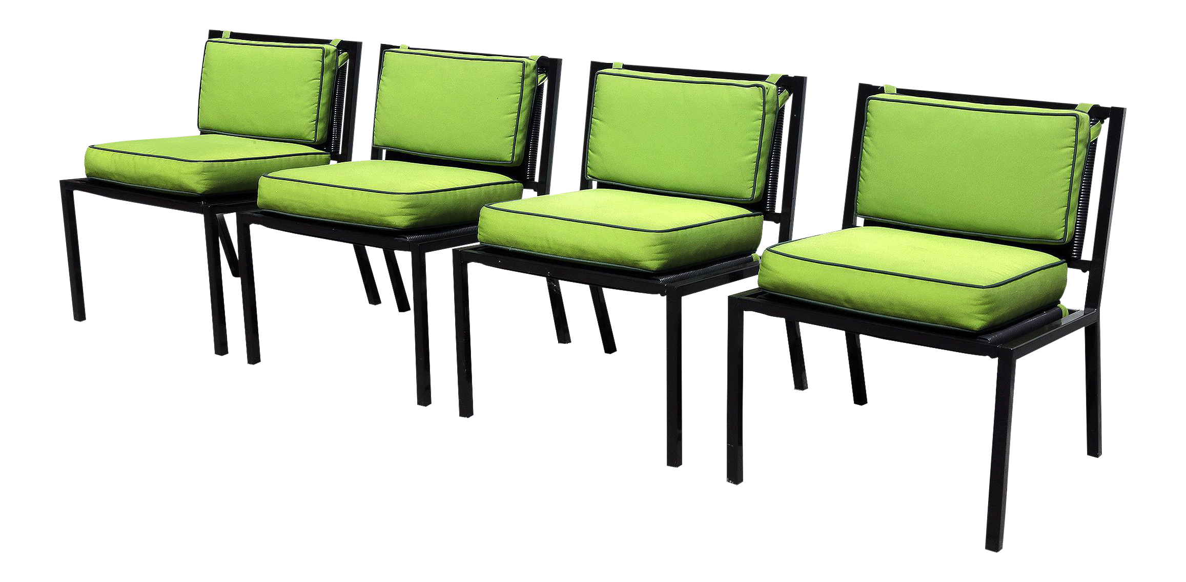 Van Keppel Green Patio Chairs   Set Of 4