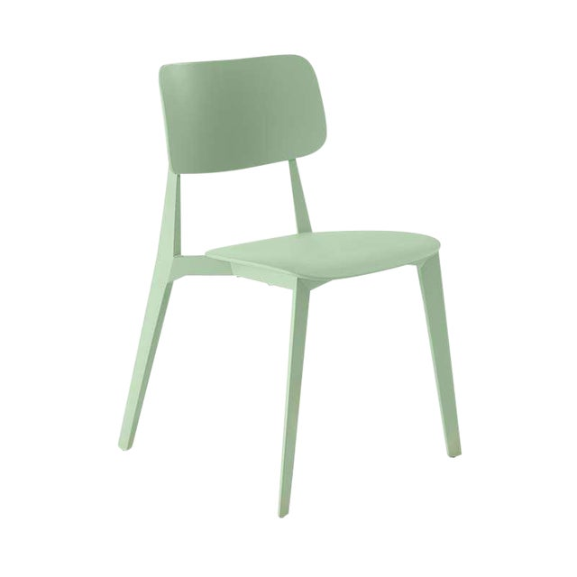 Set of Four Nuans Stellar Dining Chairs in Mint - Image 2 of 3