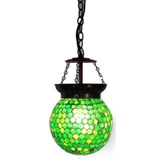 Mosaic Globe Pendant Lantern