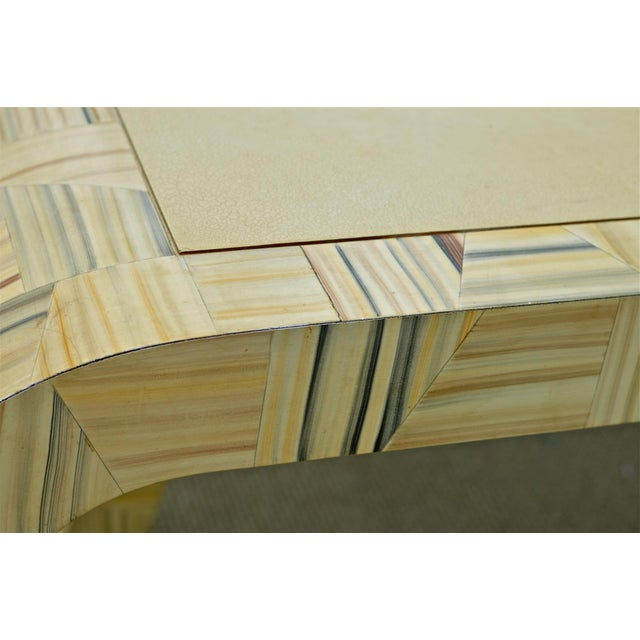 Alessandro Painted & Lacquered Console / Desk for Baker Furniture - Image 5 of 11