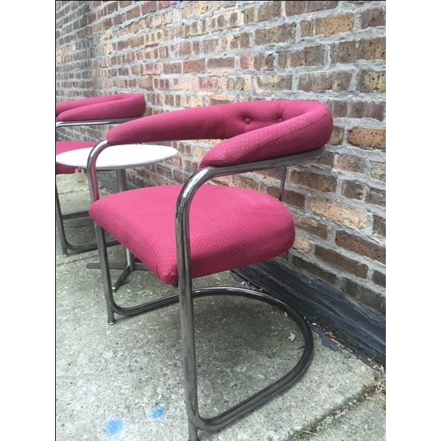 Vintage Thonet Anton Lorenz Chairs - Set of 6 - Image 10 of 11