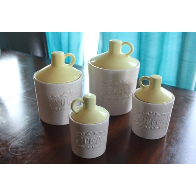Vintage Mid-Century Canisters - Set of 4 - Image 2 of 6