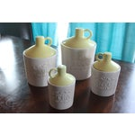 Image of Vintage Mid-Century Canisters - Set of 4