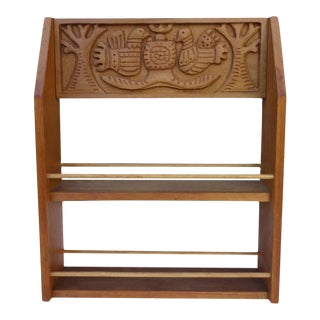 Evelyn and Jerome Ackerman Mid-Century Spice Rack, Era Industries