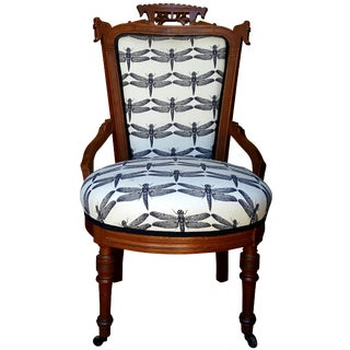 Eastlake 19th Century Parlor Chair