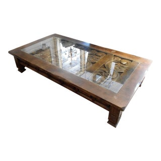 Spanish Style Rustic Coffee Table